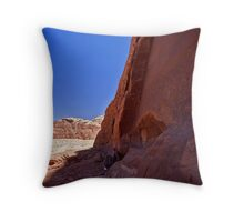 Nebetean roadsigns Throw Pillow