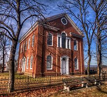 Old Church near Reading, PA by Terence Russell