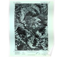 Maine USGS Historical Map Number Four Mountain 806993 1977 24000 Poster