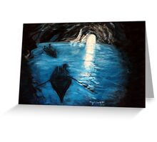 Where the Light Comes In Greeting Card