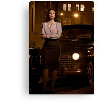 Agent Carter - Cropped Promo Still Canvas Print