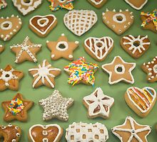 Christmas cookies by Tim Scott
