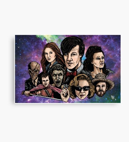 11th Dr. Who  Canvas Print