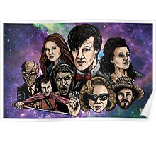 11th Dr. Who  Poster