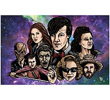 11th Dr. Who  Photographic Print