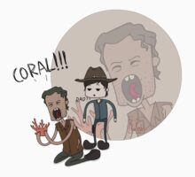 The Walking Dead Coral by HuzRedy