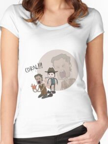 The Walking Dead Coral Women's Fitted Scoop T-Shirt