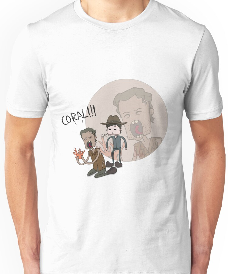 The Walking Dead Coral Unisex T-Shirt