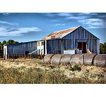 The woolshed Photographic Print