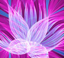 Pink Orchid Sticker