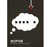 Inception minimalist print Photographic Print