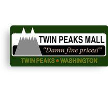 Twin Peaks Mall Canvas Print