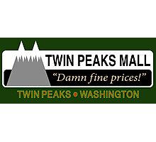 Twin Peaks Mall Photographic Print