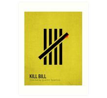 Kill Bill minimalist print Art Print