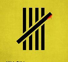 Kill Bill minimalist print by MicrowaveDesign