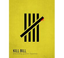 Kill Bill minimalist print Photographic Print