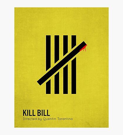 Kill Bill minimalist print Photographic Print