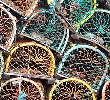 Lobster Pots by N. E. Phillips