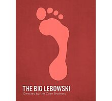 The Big Lebowski minimalist print Photographic Print