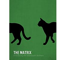 The Matrix minimalist print Photographic Print
