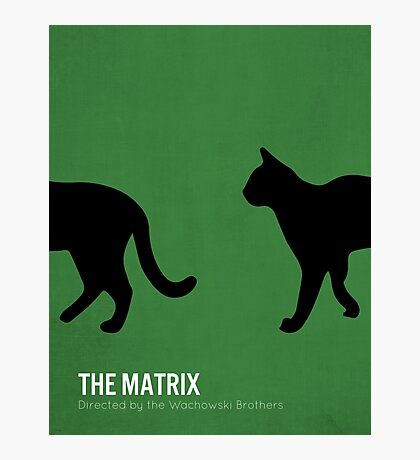 The Matrix minimalist print Photographic Print