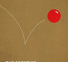 The Prestige minimalist print by MicrowaveDesign