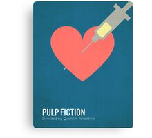 Pulp Fiction minimalist print Canvas Print