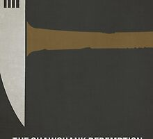 The Shawshank Redemption minimalist print by MicrowaveDesign