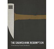 The Shawshank Redemption minimalist print Photographic Print