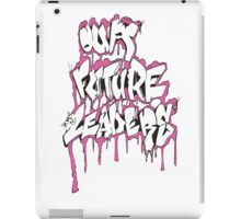 Our Future Leaders Graffiti Pink iPad Case/Skin