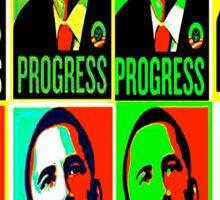 Progress by Obama Sticker