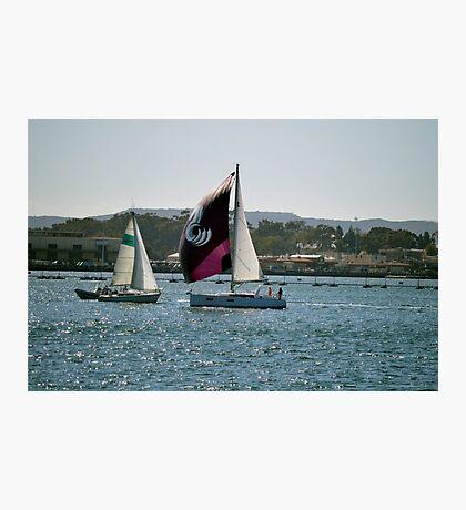 Which Way ~ Harbor Island ~ San Diego, California Photographic Print