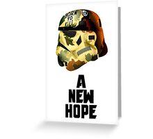 A New Hope: Born To KILL Greeting Card