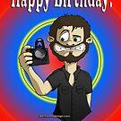 Happy Birthday from the Cameraman by Sharon Stevens