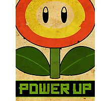 Super Mario Flower Propaganda Photographic Print