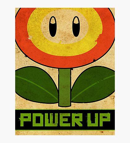 Super Mario Flower Propaganda Photographic Print