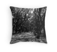 Plaza San Martin, Buenos Aires, Argentina Throw Pillow