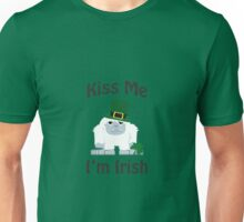 Kiss Me I'm Irish Yeti Unisex T-Shirt