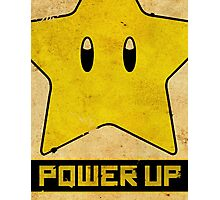 Super Mario Star Propaganda Photographic Print