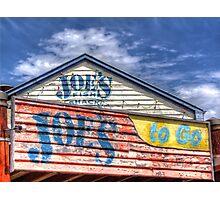 Joe`s To Go - HDR- Fremantle WA Photographic Print