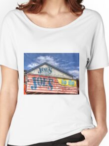 Joe`s To Go - HDR- Fremantle WA Women's Relaxed Fit T-Shirt