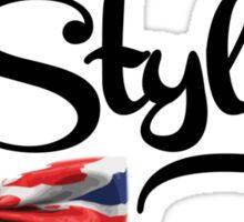 Mrs. Styles - Black Text Sticker