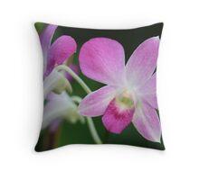 purple symmetry Throw Pillow