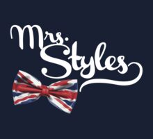 Mrs. Styles - White Text by therealvrex
