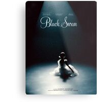 Black Swan - Poster Remake Metal Print