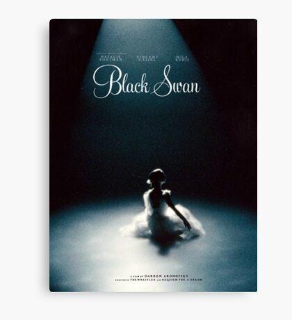 Black Swan - Poster Remake Canvas Print