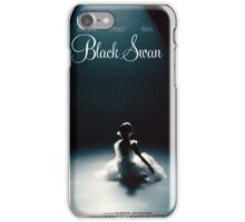 Black Swan - Poster Remake iPhone Case/Skin