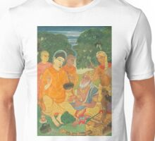 Gautama Buddha Instructs a Wise King Unisex T-Shirt