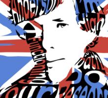 Sherlock Quote Sticker