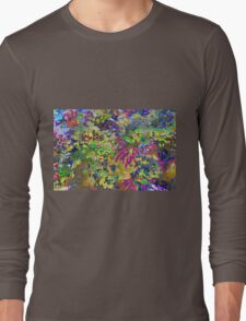 Spring Garden Color Explosion Long Sleeve T-Shirt